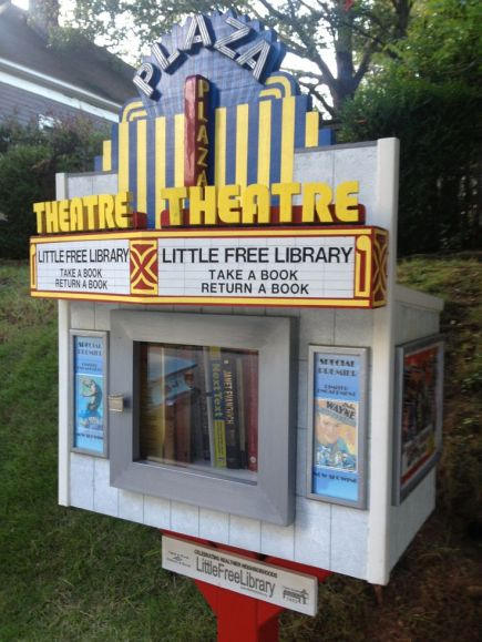 Risultati immagini per little free library