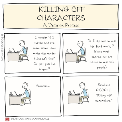 10 Funny Ways to Kill a (Fictional) Character | Something to