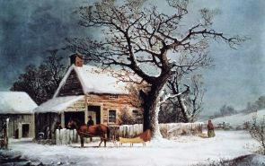 american-winter-scene--a-country-cabin--lithorgaph--91664531-570909f23df78c7d9ed6b7e3